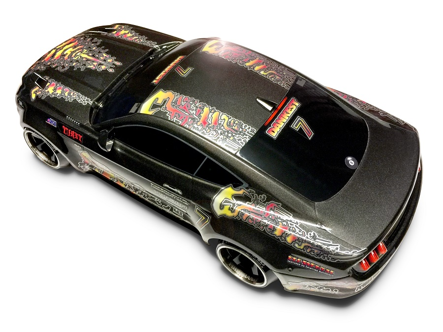 FireBrand RC Flames 2 Decals Firefade - RC Car Action