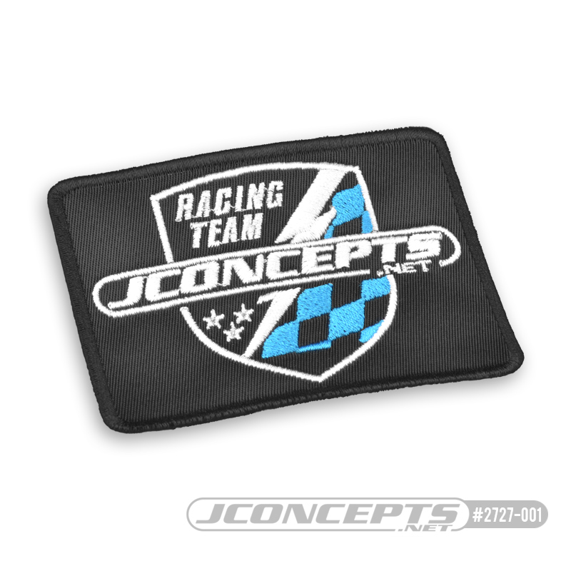 JConcepts Finish Line Embroidered Patch