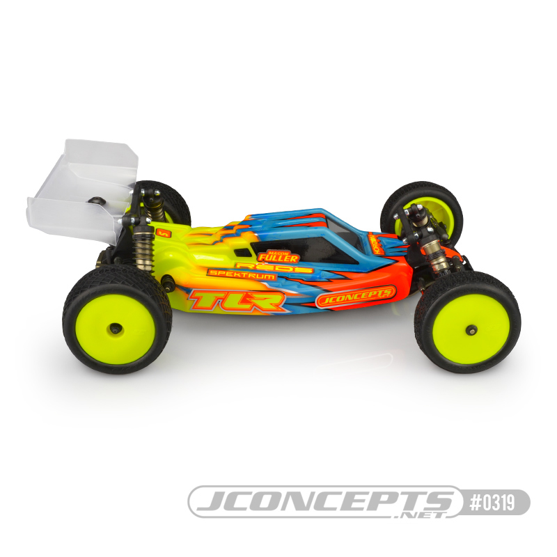 JConcepts S2 & F2 Clear Bodies For The TLR 22 5.0