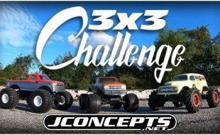 JConcepts Traxxas Stampede 3×3 Challenge [VIDEO]