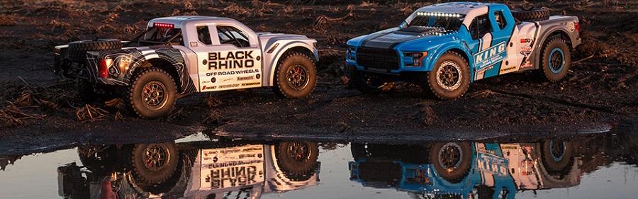 Losi 2018 Ford Raptor Baja Rey 1/10 RTR 4WD Desert Race
