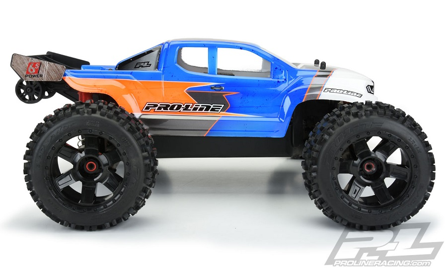 Pro-Line Brute Clear Body For The ARRMA Outcast & Notorious
