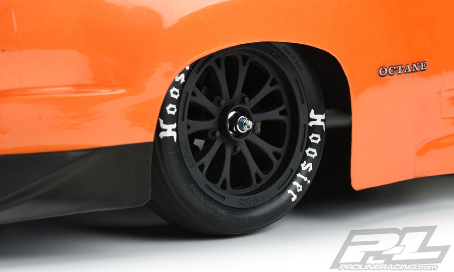 "Pro-Line Hoosier Drag 2.2"" 2WD Drag Racing Front Tires"