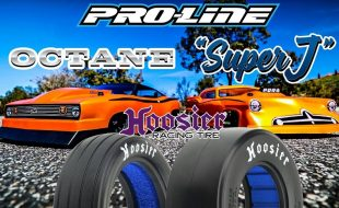 Pro-Line Octane, Super J, & Hoosier Slick Drag Racing Bodies & Tires [VIDEO]