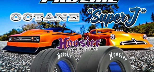 Pro-Line Octane, Super J, & Hoosier Slick Drag Racing Bodies & Tires [VIDEO]