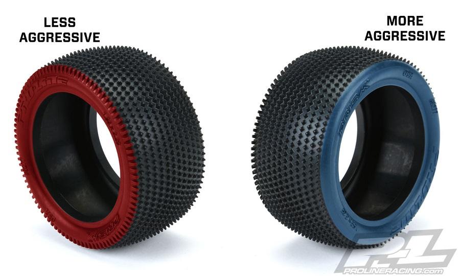 "Pro-Line Prism 2.0 2.2"" Off-Road Carpet Buggy Rear Tires"
