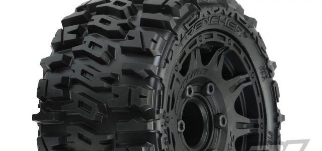 Pro-Line Trencher LP 2.8″ All Terrain Tires Mounted On Raid Wheels