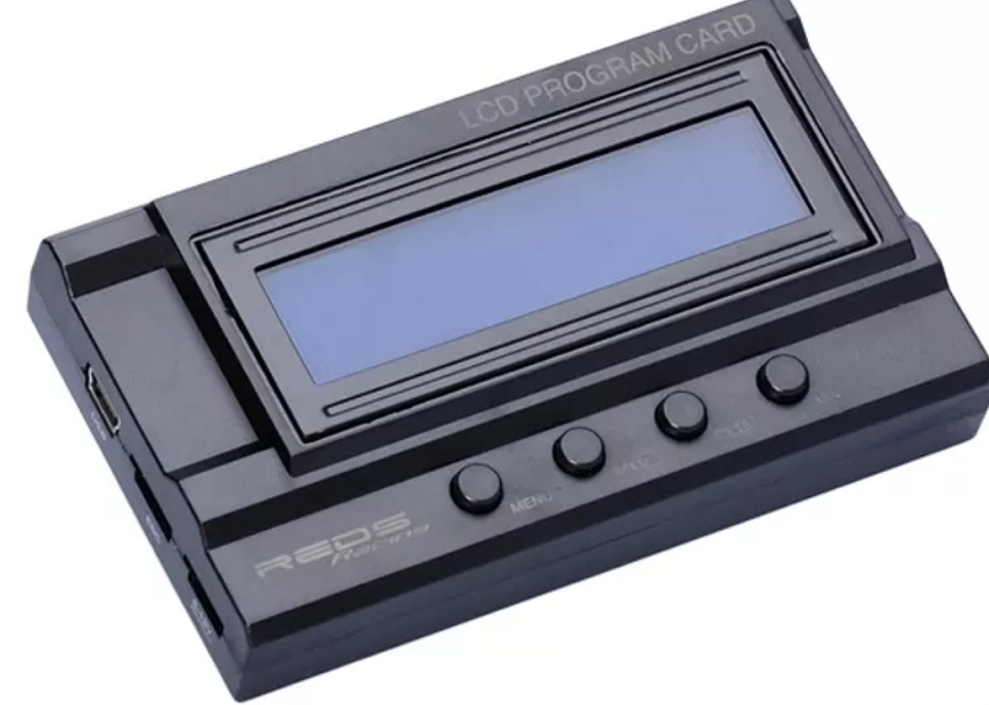 Reds Racing ZX Pro 160A 1/10 ESC & Program Box Combo