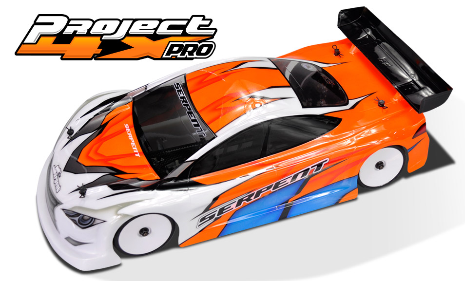 Serpent Project 4X PRO 1/10 EP Touring Car