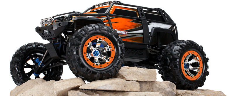 Traxxas 1/10 Summit Now Available In Orange Paint Scheme