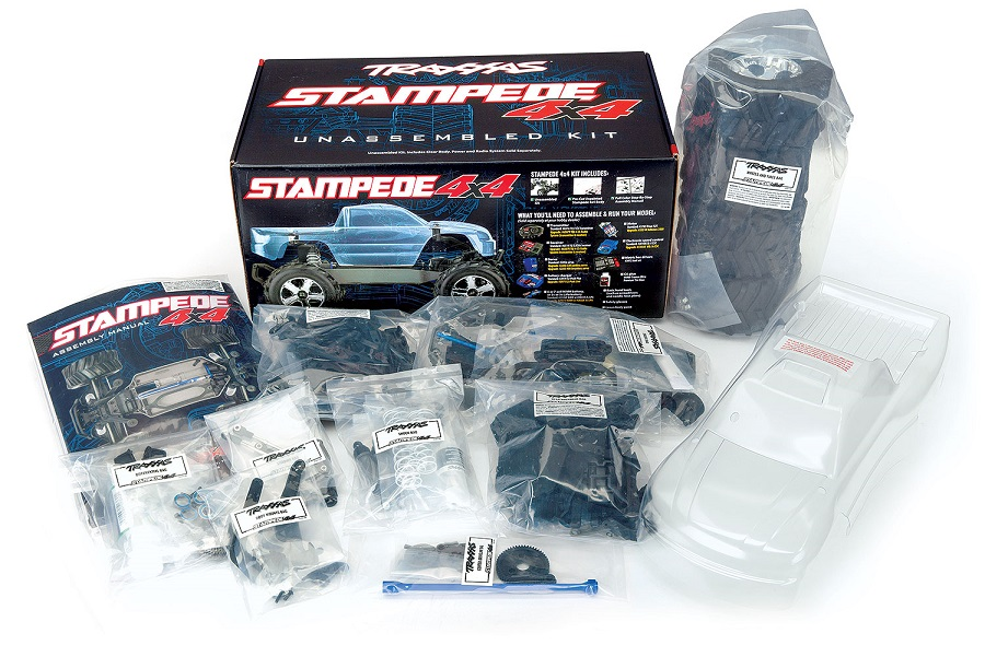 Traxxas Stampede 4X4 Unassembled Kit - RC Car Action