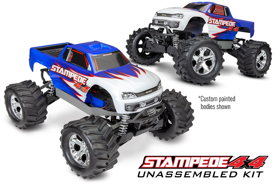 Traxxas Stampede 4X4 Unassembled Kit