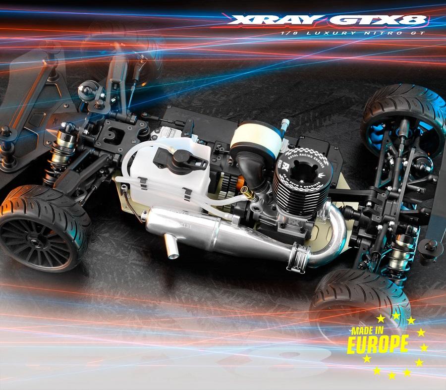 XRAY GTX8 1/8 Nitro On-Road Car