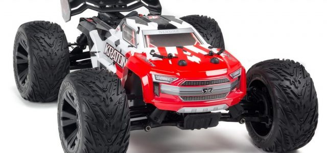 ARRMA 1/10 KRATON 4×4 4S BLX Brushless Monster Truck RTR [VIDEO]