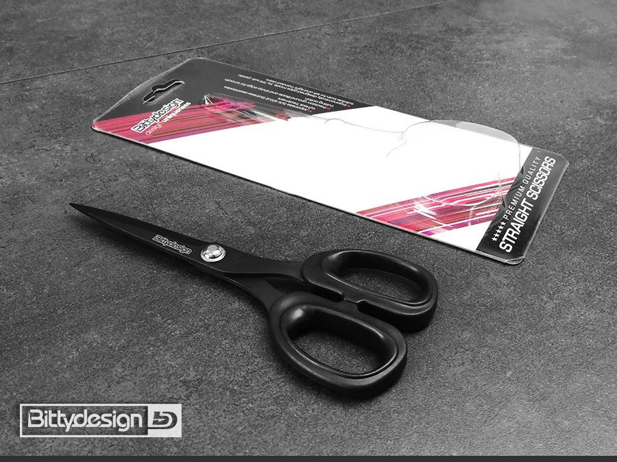Bittydesign Curved Tip & Straight Polycarbonate Scissors