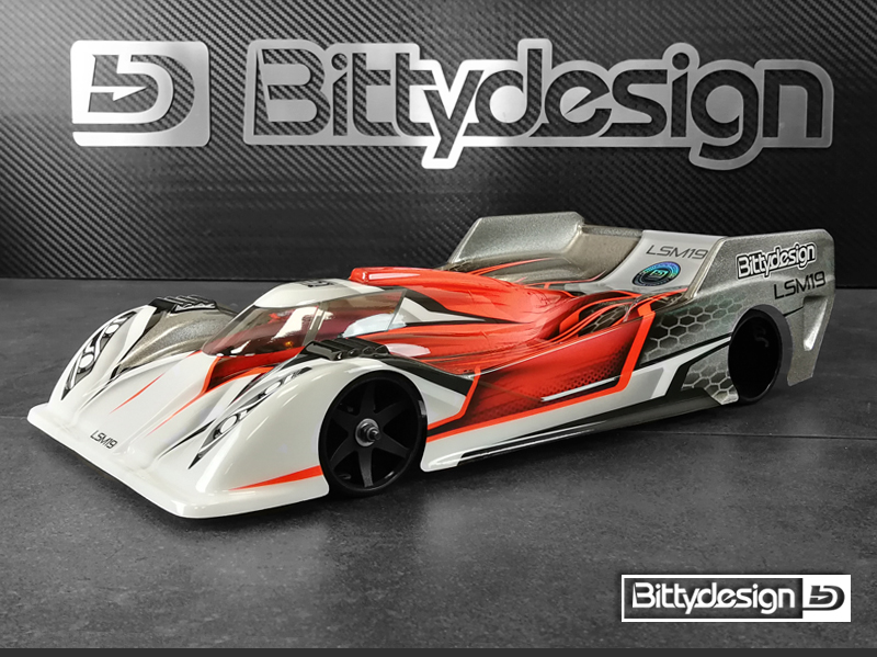 Bittydesign LSM19 1/12 Pan-Car Clear Body