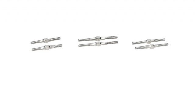 HB Racing Titanium Turnbuckles For The D418