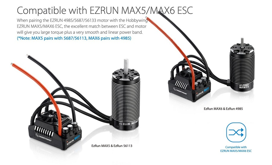 HOBBYWING Max Motor EZRun Series
