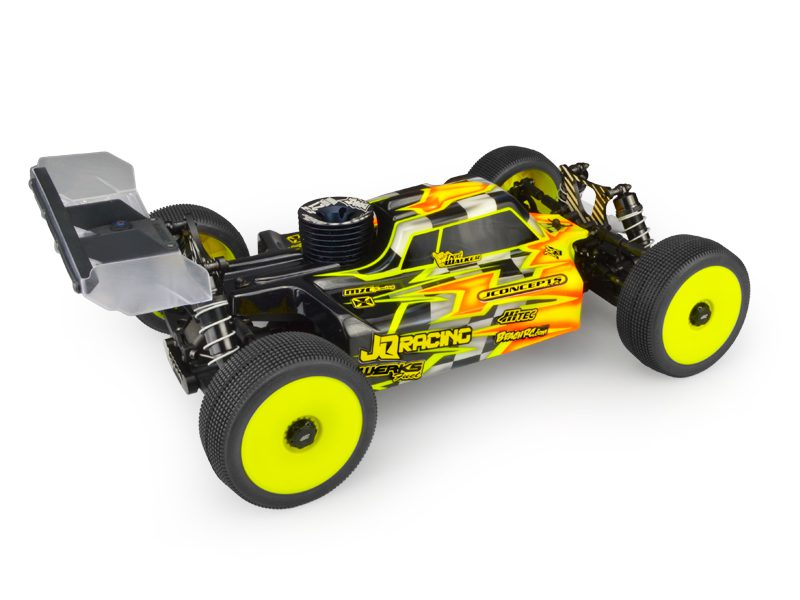 JConcepts S1 Clear Body For JQ TheCar Nitro & Electric Buggy