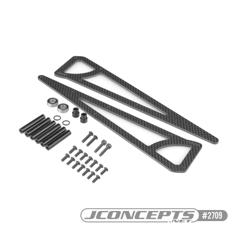 JConcepts SC6.1 Street Eliminator Wheelie Bar Kit & Shock Tower