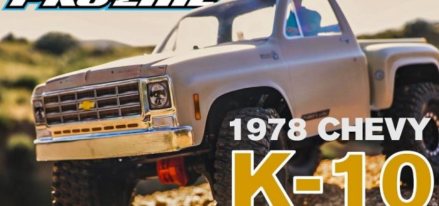 Pro-Line 1978 Chevy K-10 Clear Body [VIDEO]