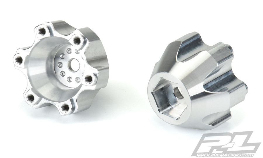 Pro-Line 6x30 To 14mm Aluminum Hex Adapters