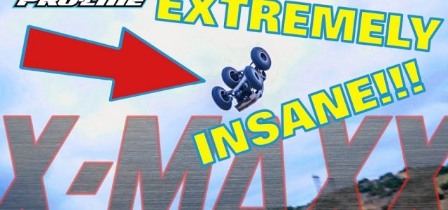 Pro-Line Extreme X-MAXX Back Flips & Driving [VIDEO]