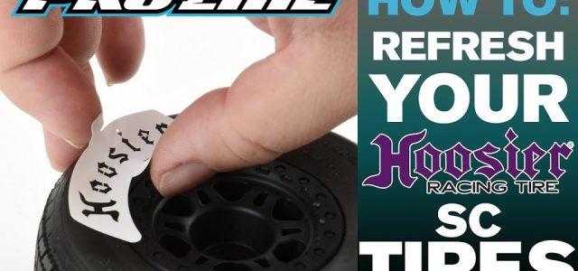 Pro-Line HOW-TO: Refresh Hoosier SC Tires [VIDEO]