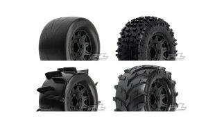 Pro-Line Mounted 2.8″ Badlands, Sand Paw, Masher & Prime Tires
