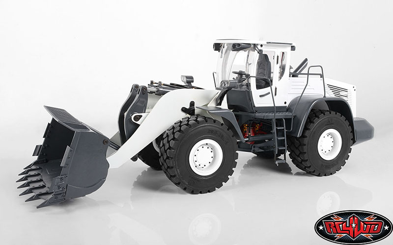 RC4WD 1/14 Scale Earth Mover 870K Hydraulic Wheel Loader (White)