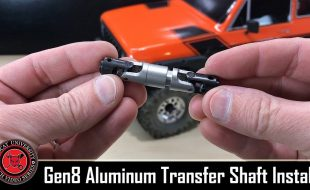 RCU How To: Redcat Racing Gen8 Scout Aluminum Transfer Case Drive Shaft Install [VIDEO]