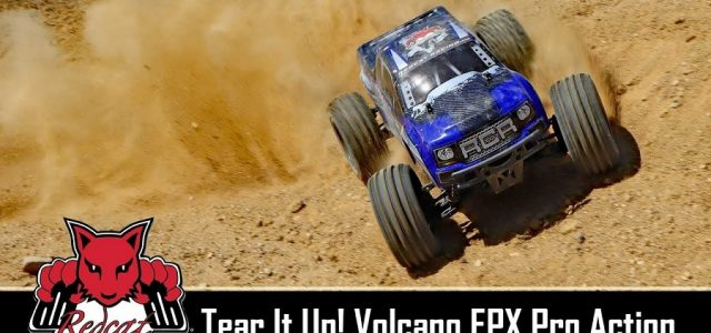 Redcat Racing Volcano EPX Pro 4WD Off-Road Action [VIDEO]