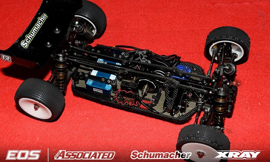 Schumacher CAT L1 Carbon Fibre HD Top Deck Conversion