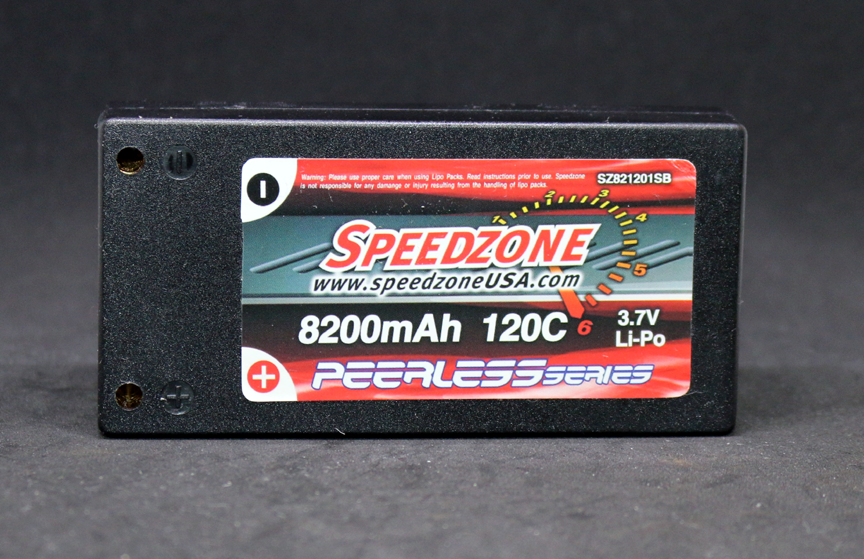Speedzone 8200mAh 120C 1S 3.7V Peerless Series Lipo