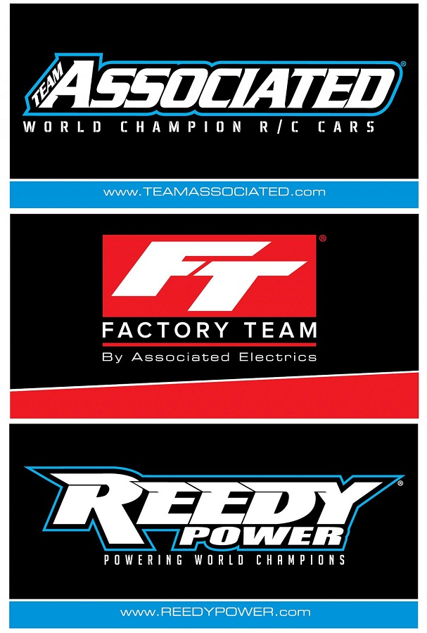Team Associated, Reedy & Factory Team Track Banners