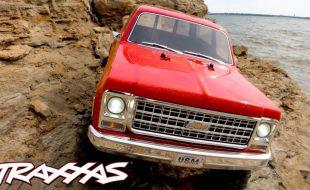 Traxxas TRX-4 Chevrolet K5 Blazer Shoreline Adventure [VIDEO]