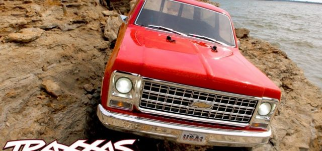 Traxxas TRX-4 Chevrolet K5 Blazer Shoreline Adventure [VIDEO]