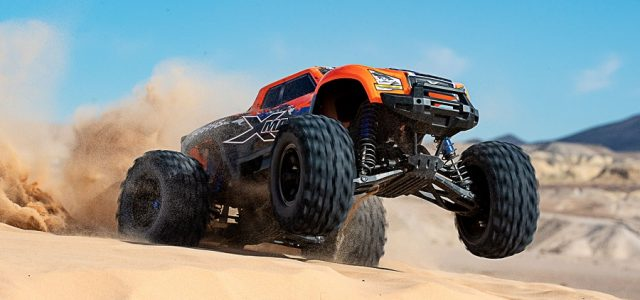 Traxxas X-Maxx Now Available In New Orange Paint Scheme [VIDEO]