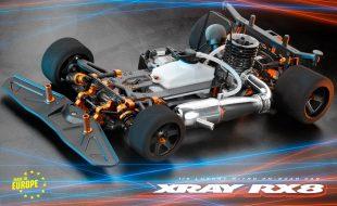 XRAY RX8 1/8 Nitro On-Road Car