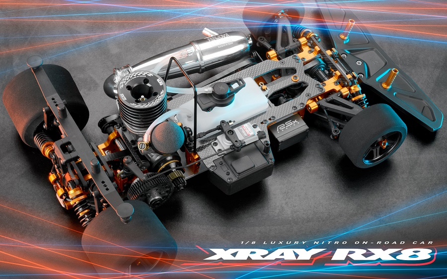 XRAY RX8 1/8 Nitro On-Road Car