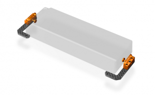 XRAY T4 Fully Adjustable Battery Holders
