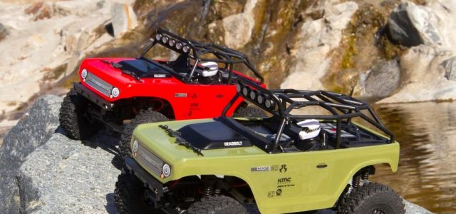 Axial SCX24 Deadbolt 1/24 Electric 4WD RTR [VIDEO]