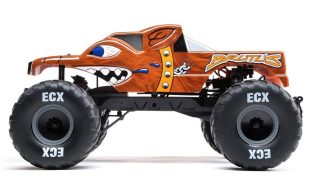 ECX 1/10 Brutus 2WD Monster Truck Brushed RTR [VIDEO]
