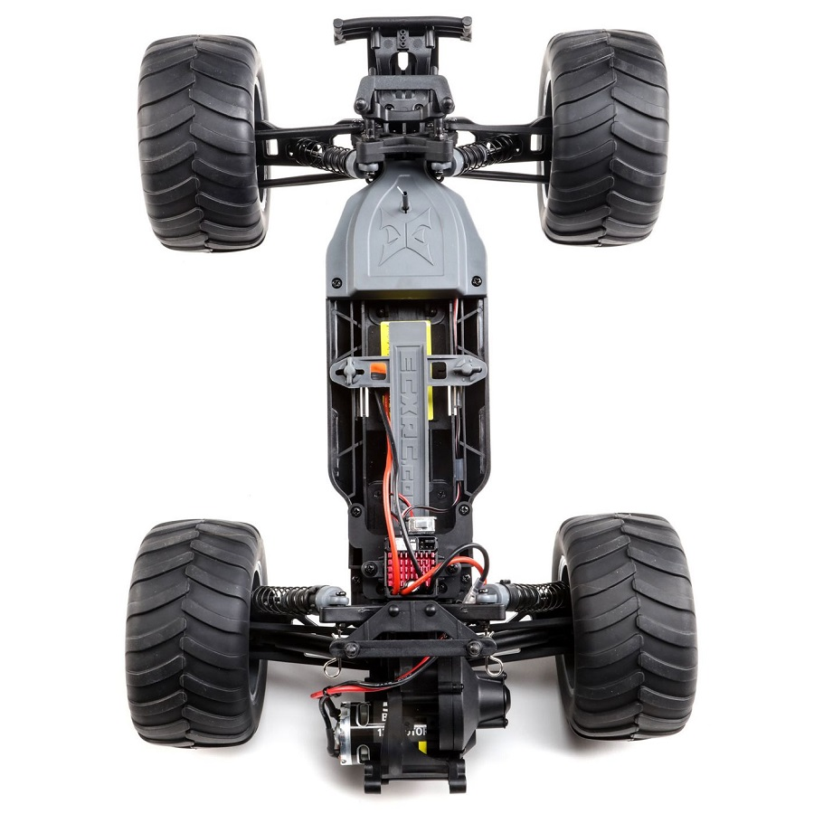 ECX 1/10 Brutus 2WD Monster Truck Brushed RTR [VIDEO] - RC