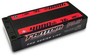 Fantom Racing 4000mAh HV Thin Shorty LiHV Pack