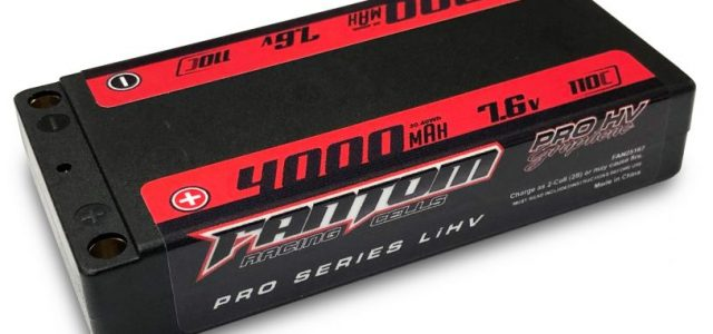 Fantom Racing 4000mAh HV Thin Shorty LiHV Pack