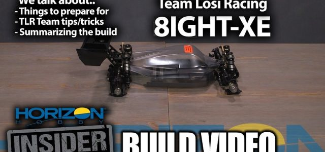 Horizon Insider Build Video: TLR 8IGHT-XE [VIDEO]