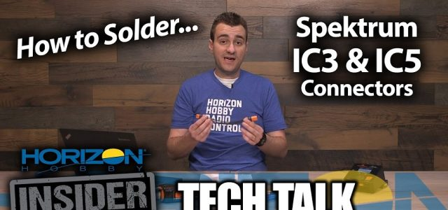 How To Solder IC3 & IC5 Connectors [VIDEO]