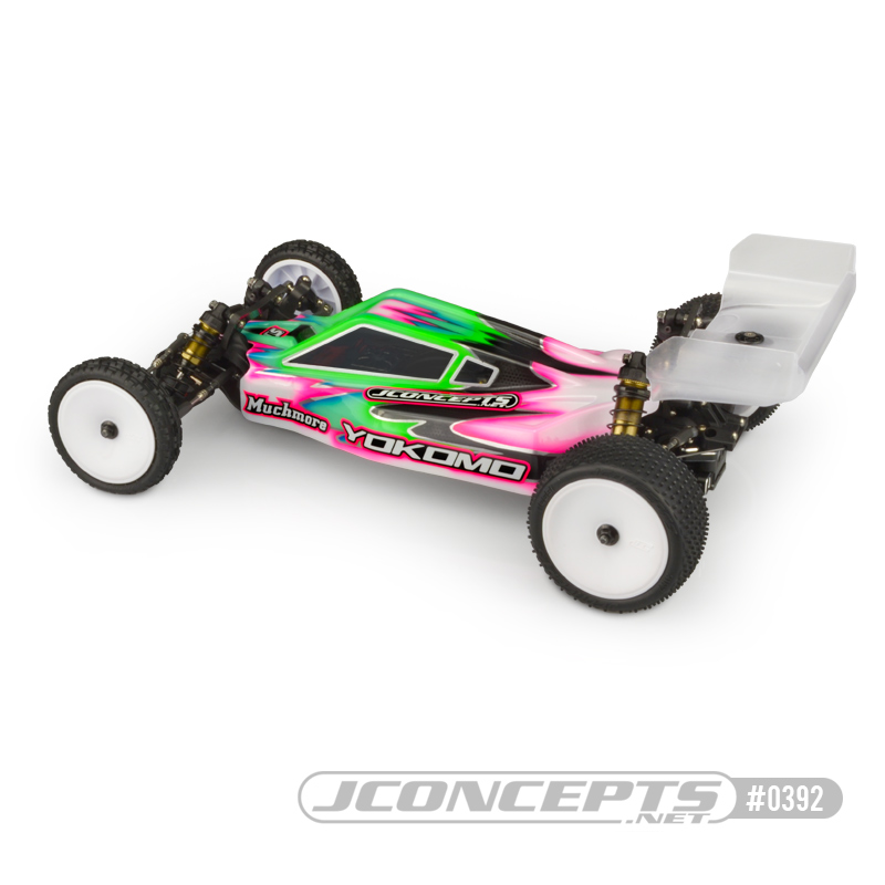 JConcepts P2K Clear Body For The Yokomo YZ2