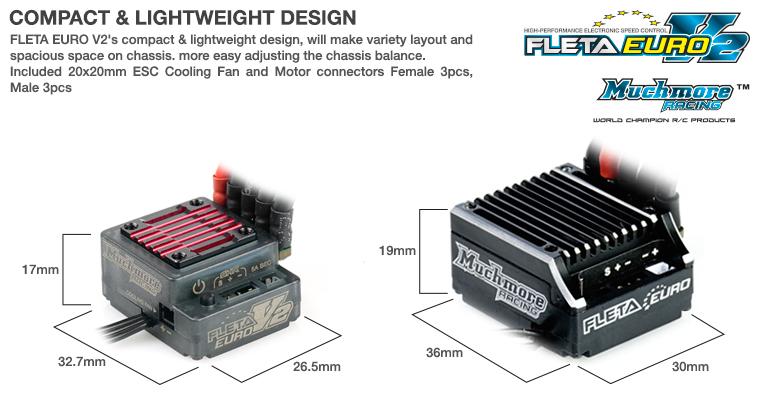 Muchmore FLETA Euro V2 Brushless ESC